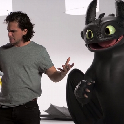 《馴龍高手3》試鏡片段曝光! 「沒牙」超失控撞倒基特哈靈頓