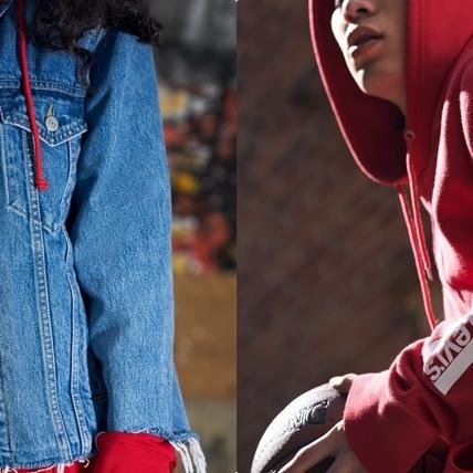 潮人們的紅色這樣搭!LEVI'S CNY系列霸氣登場 紅黑配色怎麼穿都時髦