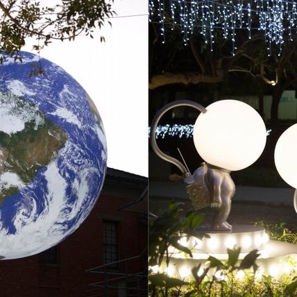 日本藝術家操刀太空人主燈!2019新竹燈會走宇宙風,7大亮點帶你漫遊外太空