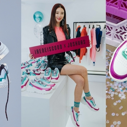 你的鞋櫃就缺這一雙!亞洲最潮部落客Irene Kim  X JOSHUAS聯名潮鞋 滿滿少女心