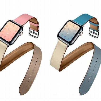 完全擊中少女心!愛馬仕第四代 Apple Watch,用櫻花粉、北極藍圈住你的春分時光