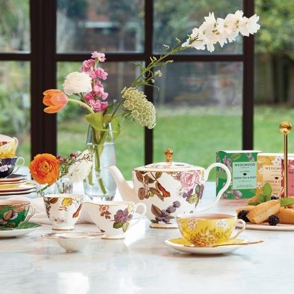 餐桌換季看這裡!精選6大春天感器皿,將繽紛花朵搬上桌