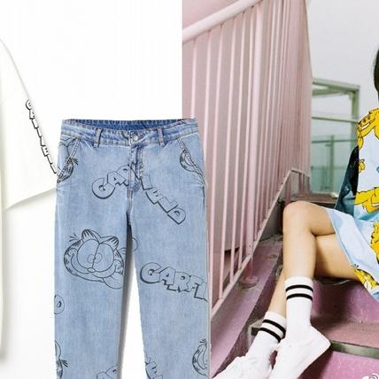 滿滿的回憶殺!H&M攜手加菲貓加持Divided系列,慵懶俏皮是否有點太可愛