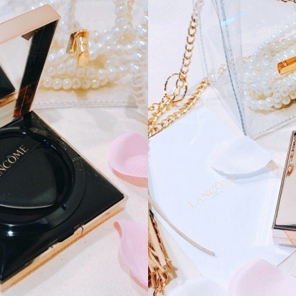 光從包拿出來就贏了!蘭蔻「 絕對完美玫瑰氣墊粉餅 」金緻時尚新裝登場,變成方形更時髦!