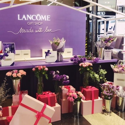快帶媽媽去 蘭蔻期間限定《青春花屋》,用夢幻的禮盒和浪漫的花束對媽媽大聲說愛!