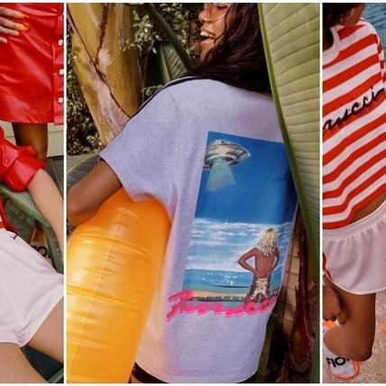 夏日跟著adidas Originals當個陽光女孩!與米蘭時尚品牌 Fiorucci合作 讓渡假穿著變得更暖更時髦了!