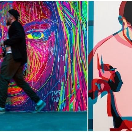 把膠帶貼成街頭藝術!《聚膠行動#TapeArt》展覽首次來台,11展區化身最潮打卡點!