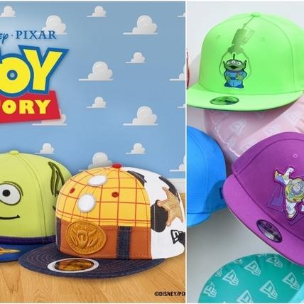 一戴上頭頂瞬間減齡10歲!NEW ERA x玩具總動員聯名帽又萌又潮 想通通買單啦!