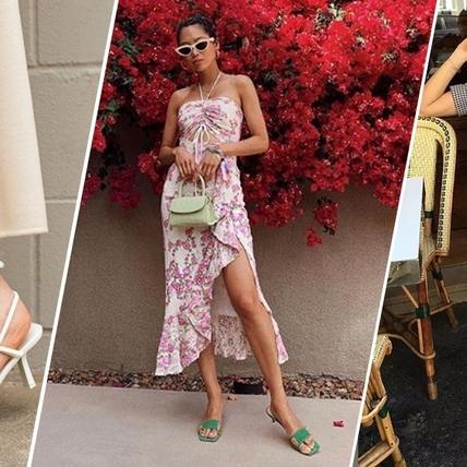 為夏日穿搭注入一絲小性感!簡約不簡單的細帶涼鞋上腳超撩人