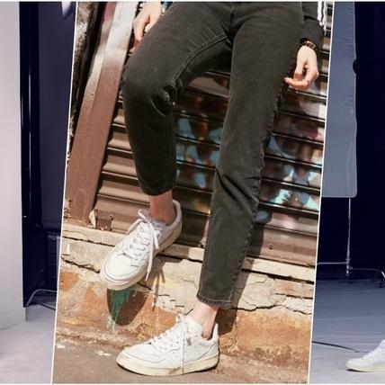 白鞋坑實在深如海!adidas Originals 經典白球鞋再現 楊冪撞色搶搭潮翻天