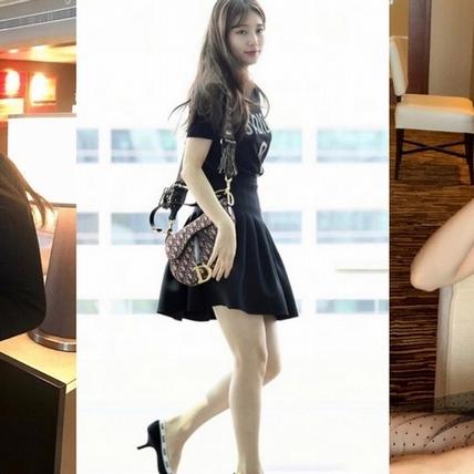 秀智果然是最優雅的女人!短裙搭上J'ADIOR跟鞋 秀出長腿又美又迷人