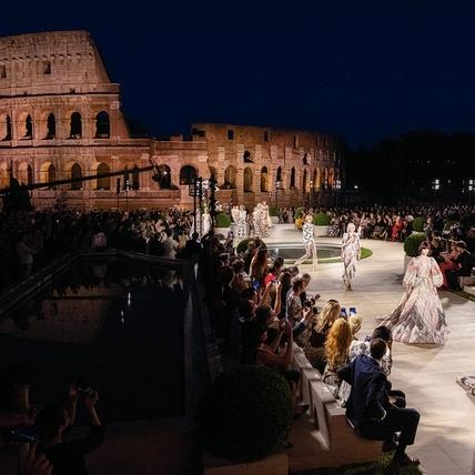 Fendi  帕拉丁諾山上的羅馬榮光