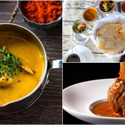 頂級印度菜百元起吃得到!微風南山Saffron 46午間優惠套餐,羊肉咖哩、窯烤饢餅超推薦