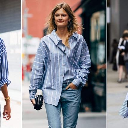 每一季都該擁有的條紋時尚!零距離的牛津襯衫這樣穿,不只顯瘦還顯氣質
