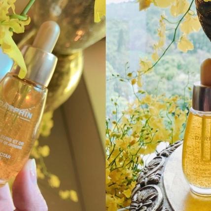 每一滴都讓肌膚嬌嫩又閃亮,DARPHIN「百妍24K黃金極緻芳香精露」擦出回頭率100%的容光煥發