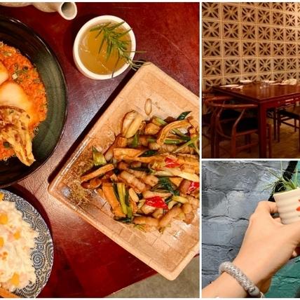 穿越古代宮廷當女王!東區中式餐酒館「青樓」創意打造雪花蛋料理、古壺調酒,好吃又好拍快約閨蜜來!
