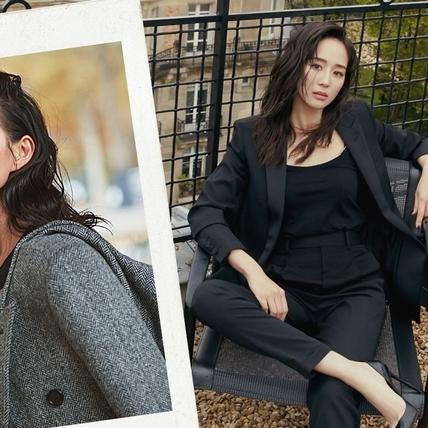 懂穿黑色的人才是時髦精! 張鈞甯3款黑色LOOK穿搭,完美呈現高級又性感