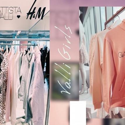 H&M x Giambattista Valli設計師聯名系列眾星演繹,不只夢幻蓬裙可愛 粉紅T-Shirt也讓人好想要