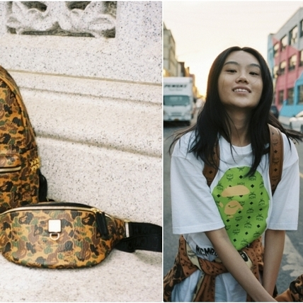 潮流人士必追!MCM 與日本潮牌BAPE®全新聯名,加入迷彩設計款款深得你心