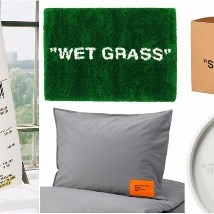 IKEA X Off-White「MARKERAD」限量聯名系列開賣!巨型收據地毯、蒙娜麗莎掛飾、環保購物袋等15款帥炸,11/1開放登記搶購!