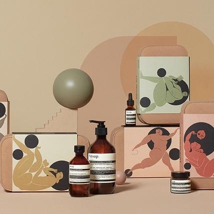 Aesop年度禮盒,最熱賣的香芹籽系列與芳香護手霜都有了,幫你全身都顧到啊