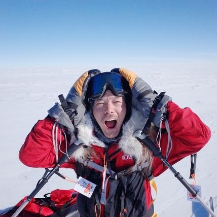 宥勝叛逆挺進南極猛摔!笑說「打死不去第二次」