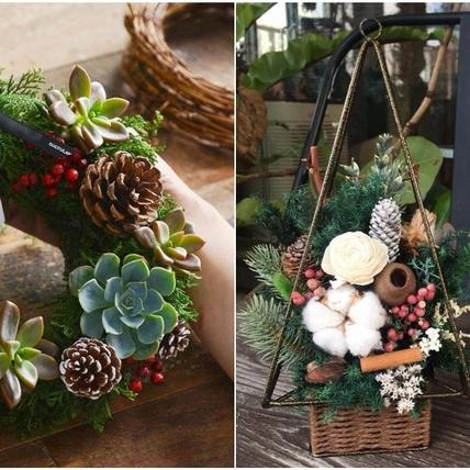 手作聖誕花圈送禮最暖心!推薦全台6間療癒花藝店,植物控快出發