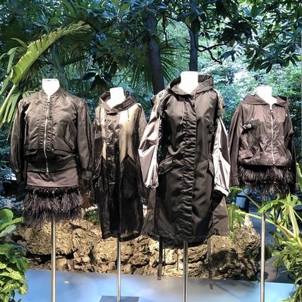 〈2020春夏米蘭女裝周〉Mr&Mrs Italy  Parka大衣的浪漫變奏