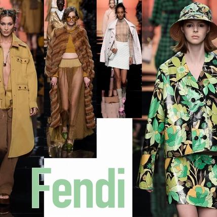 〈2020春夏米蘭女裝周〉Fendi  燦爛美好的夏日記憶