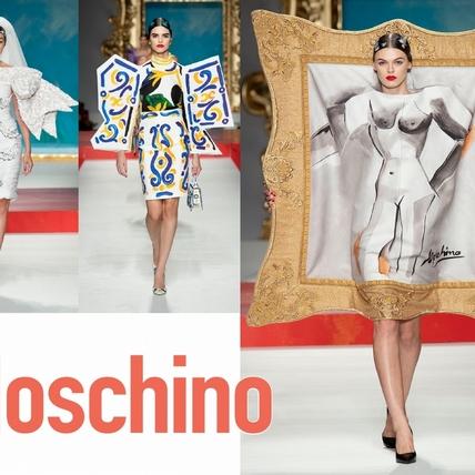〈2020春夏米蘭女裝周〉Moschino  畢卡索深愛的女人們