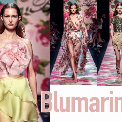 〈2020春夏米蘭女裝周〉Blumarine  玫瑰與她的善良和微笑