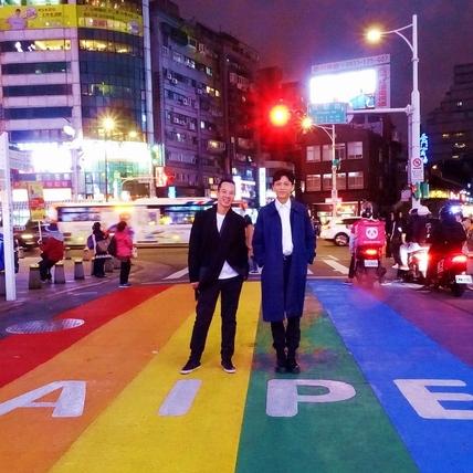 金馬56/《叔‧叔》感動首映! 導演西門町遇「彩虹」大喜