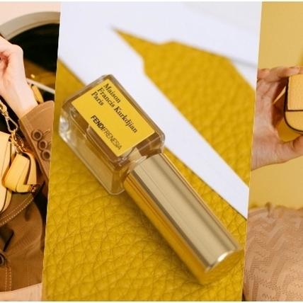 香味可以維持好幾年!Fendi推出全求第一款香水包 FENDIFRENESIA Baguette 經典黃配白超美!