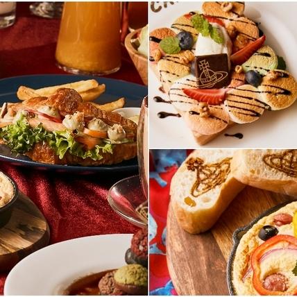 連日韓觀光客都來朝聖!「Vivienne Westwood Cafe」聖誕套餐有土星環飲品、耶誕樹泡芙、英式早午餐,推薦閨蜜來大聊!
