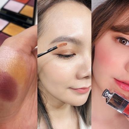 2020春妝真的就是要來搶劫荷包的,橘色眼影、粉亮腮紅、豐潤護唇色,每一個都超實用又絕美