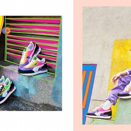 太帥了!蔡依林加入 PUMA 品牌代言人行列,搶先演繹Future Rider 黑馬鞋款潮出新高度