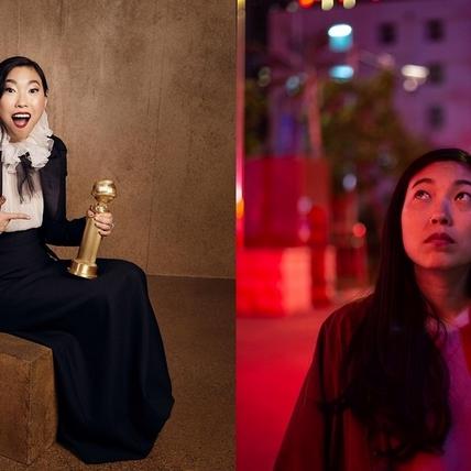 金球獎/首位亞裔影后是她! 《別告訴她》奧卡菲娜搞笑沒錢要賣獎座