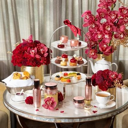 跟姊妹閨蜜約一波~雪花秀聯手東方文華的「頂級賦活下午茶」,邊吃邊保養一起變漂亮