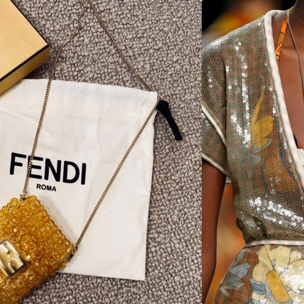 快幫Airpods換新衣!Fendi 2020秀上的黃珠子吊飾萌翻天,可愛到讓你尖叫啦!