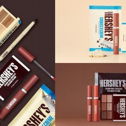 有了ETUDE HOUSE X HERSHEY'S 情人節彩妝限定系列,一抹眼唇比巧克還可口,絕對讓妳的他買單!