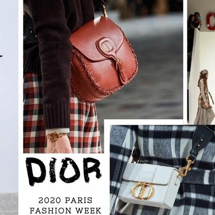 女性魅力再現!Dior 2020秋冬除了地板上暗藏玄機 這些包款也讓人印象超深刻