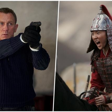 《007》和《花木蘭》也擋不住疫情! 電影圈爆延檔潮