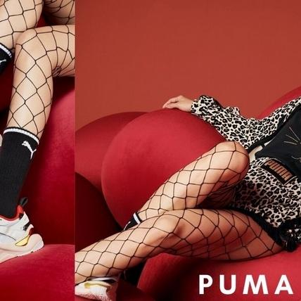 蔡依林化身性感小野貓!演繹PUMA SELECT聯名系列,豹紋網狀絲襪火辣惹眼呀