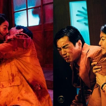 《逃出立法院》砍活屍不忘耍浪漫! 賴雅妍、禾浩辰上演「血淋淋吻戲」