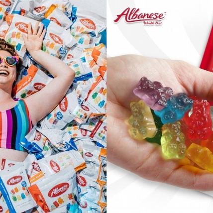 全球最好吃的軟糖在7-11開賣啦!「美國艾爾巴Albanese小熊軟糖」主打天然水果製,經典、爆酸2款都必吃!