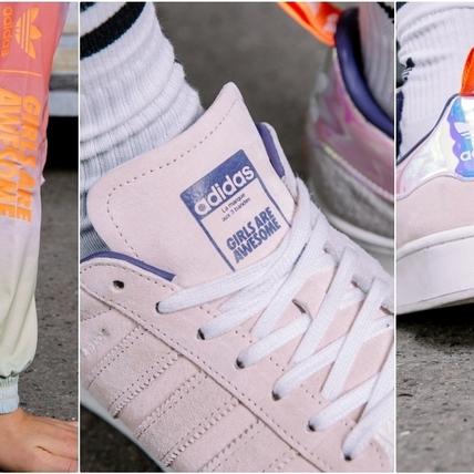 少女沒這雙說不過去!adidas Originals X Girls Are Awesome聯名,彩虹漸層色美到窒息