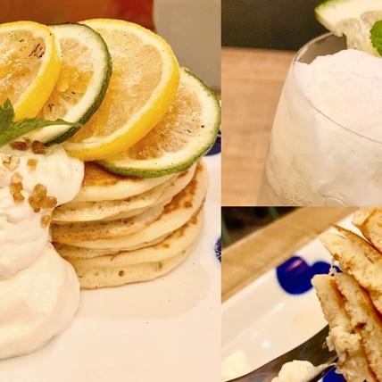 檸檬+鳳梨超絕配!杏桃鬆餅屋「香檸雪酪天使鬆餅、香檸旺來冰茶」新上市,酸甜可口太誘人