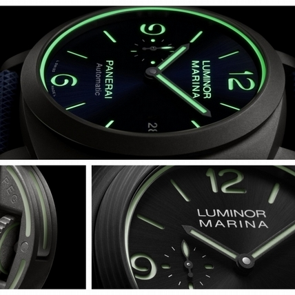 Watches & Wonders 2020 / 沛納海致敬夜光物料70周年 Luminor Marina Fibratech™一支錶款,三項創舉!