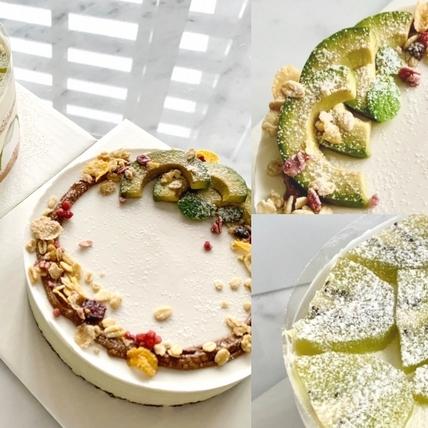 超級食物化身療癒蛋糕?「MJ Handmade Patisserie 微甜室」把酪梨、奇異果、抹茶製成3款絕美蛋糕,健身者也能安心吃!