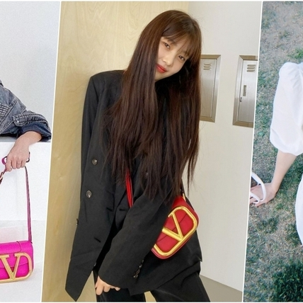 這V字不得了!《夫妻的世界》韓素希也愛的VALENTINO 小V包,大小剛好超適合亞洲女孩入手